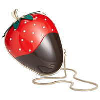 kate spade new york Crème de la Dipped Strawberry Clutch