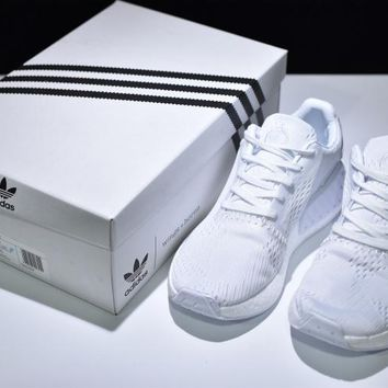 wings+horns x adidas Originals NMD_R2 Boost Running Shoes ¡°ALL WHITE¡± BB3120