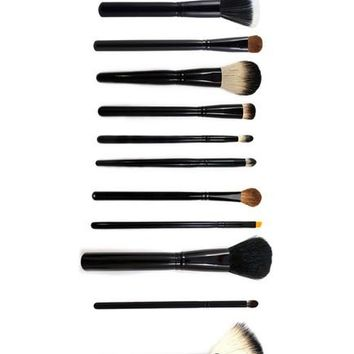 Authentic Morphe 12-Piece Must Haves Brush Set