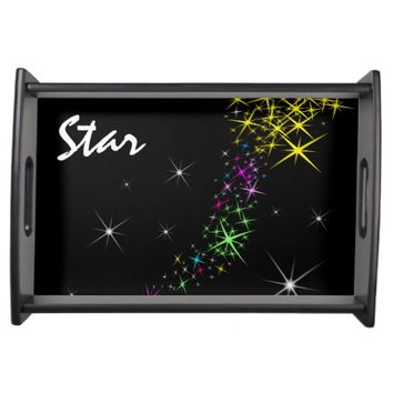 Christmas Star Serving Tray