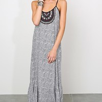 ANGIE Timeless Boho Maxi Dress