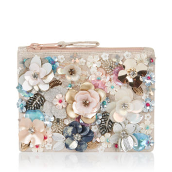 Accessorize | Katrina Embellished Ziptop Purse | Multi | One Size