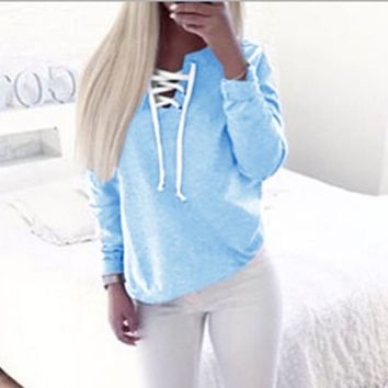 Women Sweatshirt Autumn Hoodies Long Sleeve Harajuku Hoodied Casual Pullover Female Sweatshirts Sudaderas Mujer LJ5243