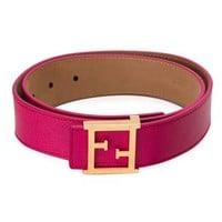 Fendi Ff Logo Buckle Belt - - Farfetch.com