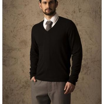BRIAN 100% VICUNA SWEATER
