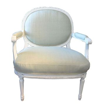 Pre-owned Louis XVI Slipper Chair