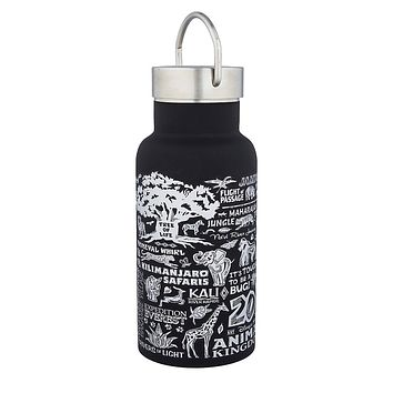Disney Parks Animal Kingdom 20th Anniversary Stainless Steel Bottle New