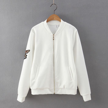 Owl Zippers Jacket [6308176708]