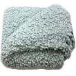 Betsy Whipering Blue Boucle Throw