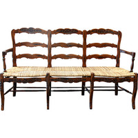 AFD Home Country French 3 Seater In Brown