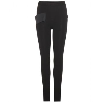 givenchy - stretch jersey skinny trousers