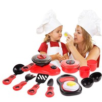 DCCKL72 1 Set Kitchen Cooking Toy Children DIY Pretend  Kitchen Toy Role Play Toy Set Kids Educational Toys For Children's