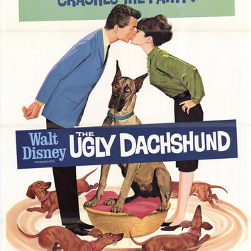 The Ugly Dachshund 11x17 Movie Poster (1966)