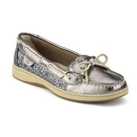 Sperry Women's Angelfish, Pewter/Charcoal Glitter-9