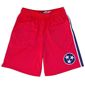 Tennessee Flag Lacrosse Shorts