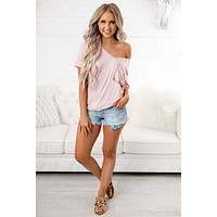 POL It Together Top (Dusty Pink)
