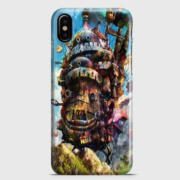 Howls Moving Castle iPhone X Case