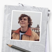 'Evan Peters' Sticker by SincerelyJensen