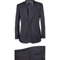 Kilgour - Navy Mohair and Wool-Blend Suit | MR PORTER