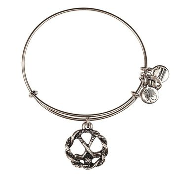 Alex and Ani Golf Clubs Charm Bangle - Russian Silver