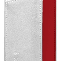 """Ionic IMPRESSION Slim Dual Pocket Leather Case Cover for """"The new iPhone"""" new Apple iPhone 5 Apple iPhone 5S (AT&T, T-Mobile, Sprint, Verizon) (Pink/Purple)[Doesn't fit iPhone 4/ iPhone 4S]"""