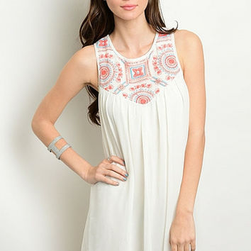 Blooming Sweet Babydoll Tank Dress