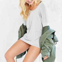 Truly Madly Deeply Side Slit Scoop Tee