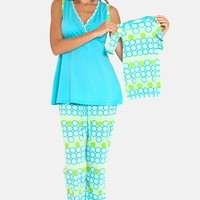 Women's Olian 3-Piece Maternity Sleepwear Gift Set
