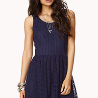 Femme Crochet Lace Dress