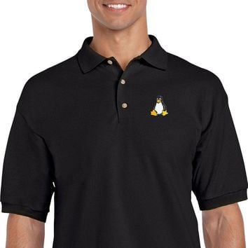 Linux Embroidered Polo Shirt