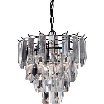 Glass Fringe Pendant Lamp
