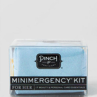 Minimergency Kit For Her In Sparkly Blue