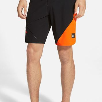 Men's Quiksilver 'AG47 New Wave' Scalloped Board Shorts,