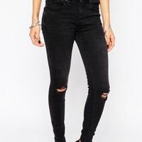 New Look Petite Skinny Jean With Ripped Knee