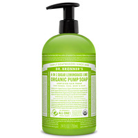 Dr. Bronner's Organic Shikakai Pump Liquid Soap - Hand and Body - Lemongrass Lime - 24 oz