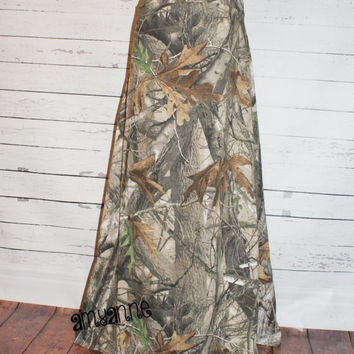 Next G2 Camo Maxi Skirt Knit Womens and Plus Size Camouflage Real Tree  Long xs s m l xl xxl 3x 4x 5x AmyAnne Duck Dynatsy Hunting