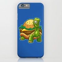 Turtle Burger iPhone & iPod Case by Artistic Dyslexia | Society6