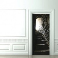 Trompe L'oeil Doors French catacombs - Koziel by Couture Déco