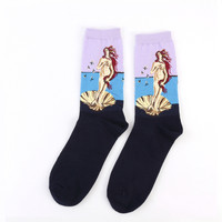 Birth of Venus by Sandro Botticelli Sock