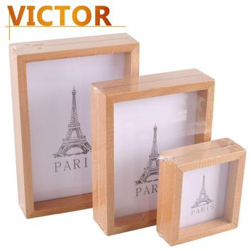 Modern Wooden Photo Frames for Family baby Wedding picture set Gifts Handmade Picture Frame Desktop for table crafts Home Decor