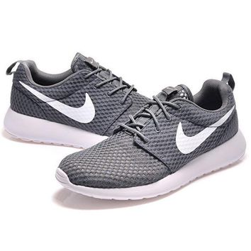 """NIKE"" Trending Grey Roshe Nike Fashion Casual Sports Shoes"