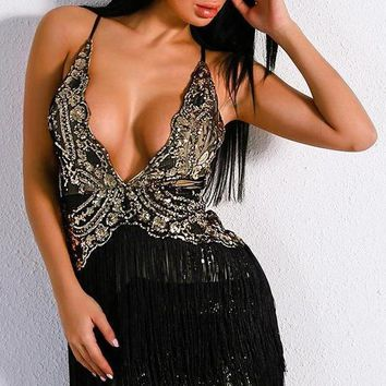 Zita Sequin Dress