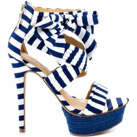 Zigi Soho Khloe Navy Multi Womens Shoe *wander deal*