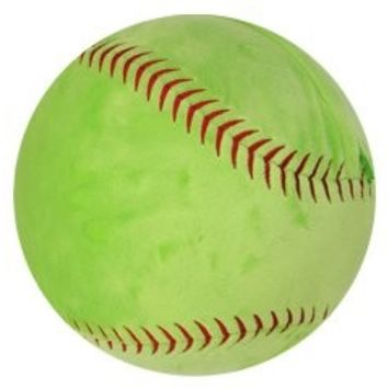 Big, Plush Fastpitch Softball Pillow (From $22)