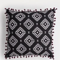 Aztec Pom Pom Throw Pillow | Pillows | rue21