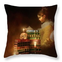 We Read To Know We Are Not Alone Throw Pillow