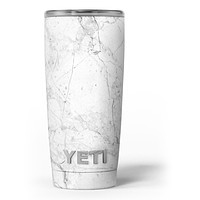 Cracked Marble Surface Yeti Rambler Skin Kit