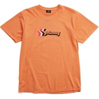 3 Star Pigment Dyed T-Shirt Coral