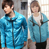 YESSTYLE: K-Style- Hooded Zip Jacket - Free International Shipping on orders over $150