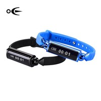 Intelligent heart rate bracelet sleep monitor touch screen lift hands bright screen light movement Bluetooth db02 bracelet